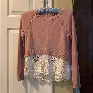Crop Like AE Sweater